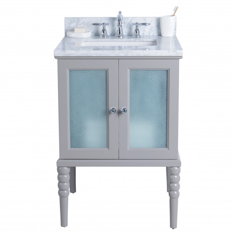 "Grace Floor Mount 24"" Single Sink Vanity"