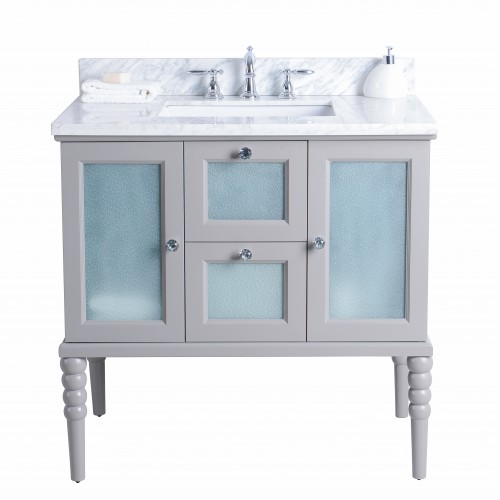 "Grace Floor Mount 36"" Vanity"