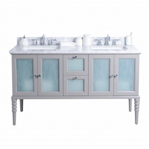 "Grace Floor Mount 60"" Vanity"