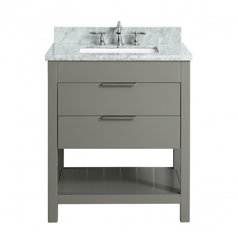 "Rta Kitchen Cabinets Toronto: Breeze Floor Mount 30"" Single Sink Vanity"