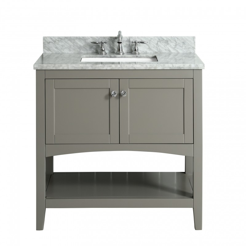 "Sirena Floor Mount 36"" Vanity – Freestanding Bathroom Vanities - Toronto,  Canada 