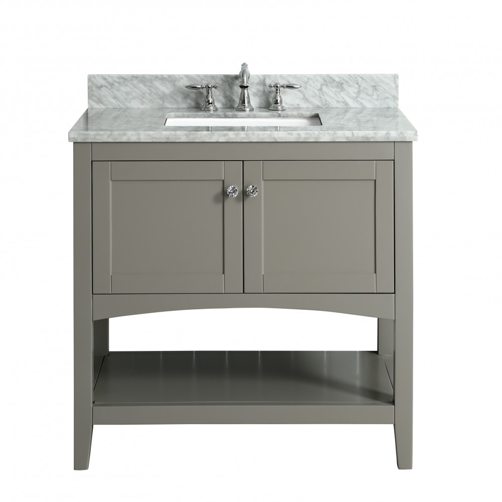 Sirena Floor Mount 36 Vanity Freestanding Bathroom