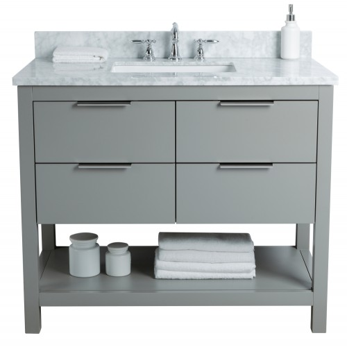 "Breeze Floor Mount 42"" Vanity"