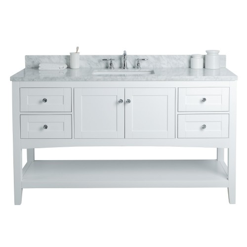 "Sirena Floor Mount 60"" Single Sink Vanity"