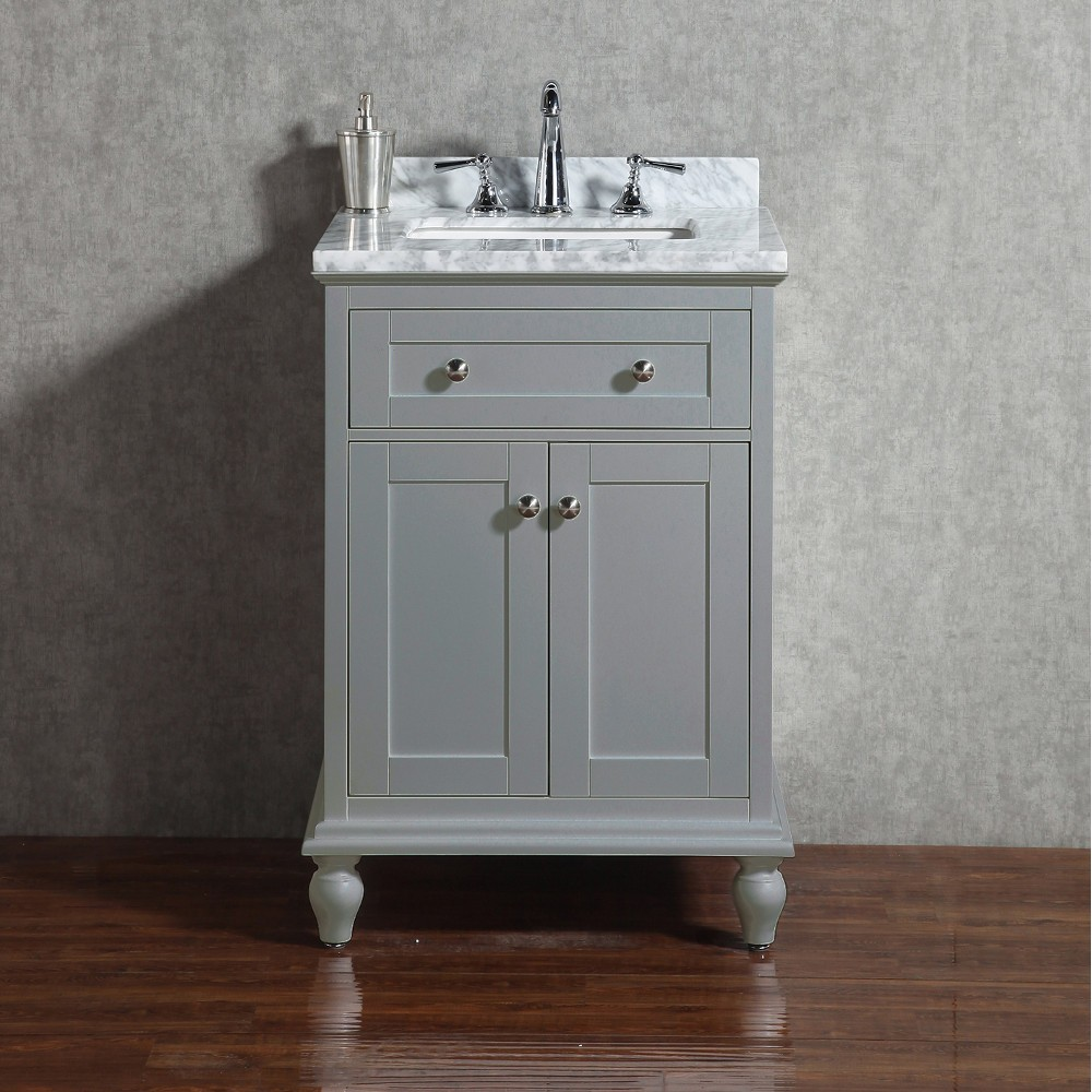 Yasmine Floor Mount 24 Vanity Freestanding Bathroom Vanities Toronto Canada Virta Luxury