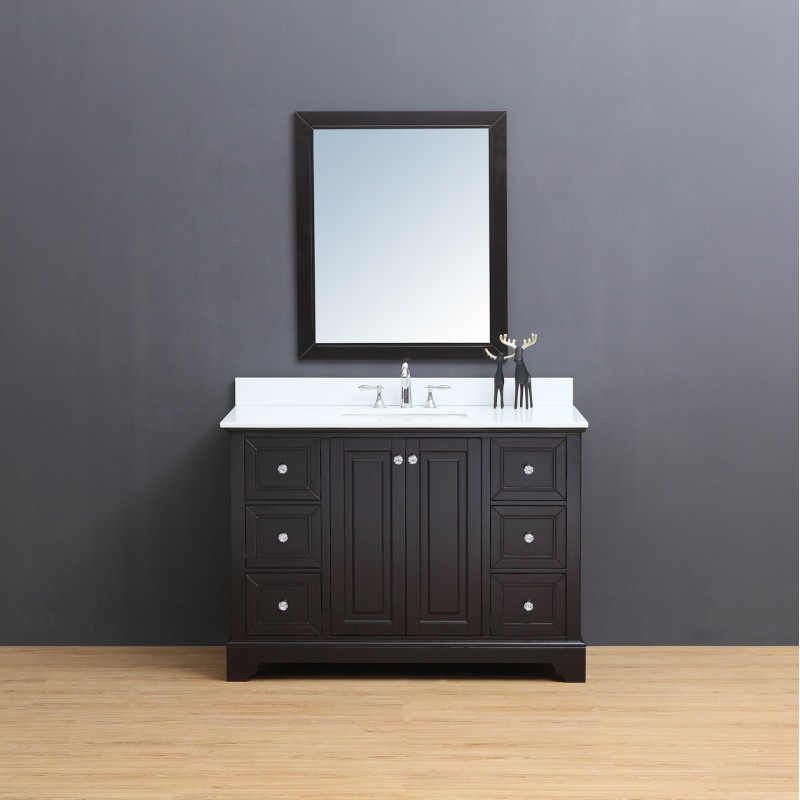 Dalia Floor Mount 48 Vanity Freestanding Bathroom
