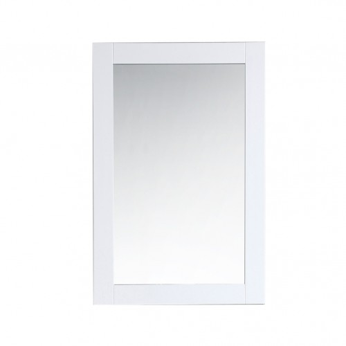 """Virta Solid Wood Rectangular 24"""" Bathroom Mirror"""