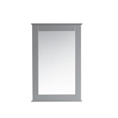 "Virta Rectangular 24"" Bathroom Mirror with Decorative Molding"