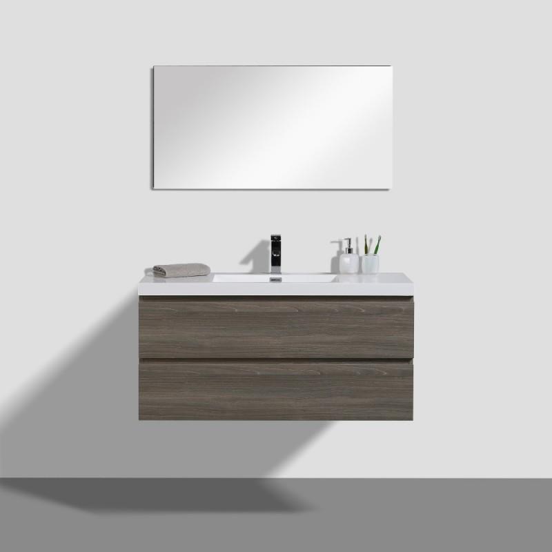 Angela Wall Hung 43 Vanity Wall Mounted Bathroom Vanities Toronto Canada Virta Luxury