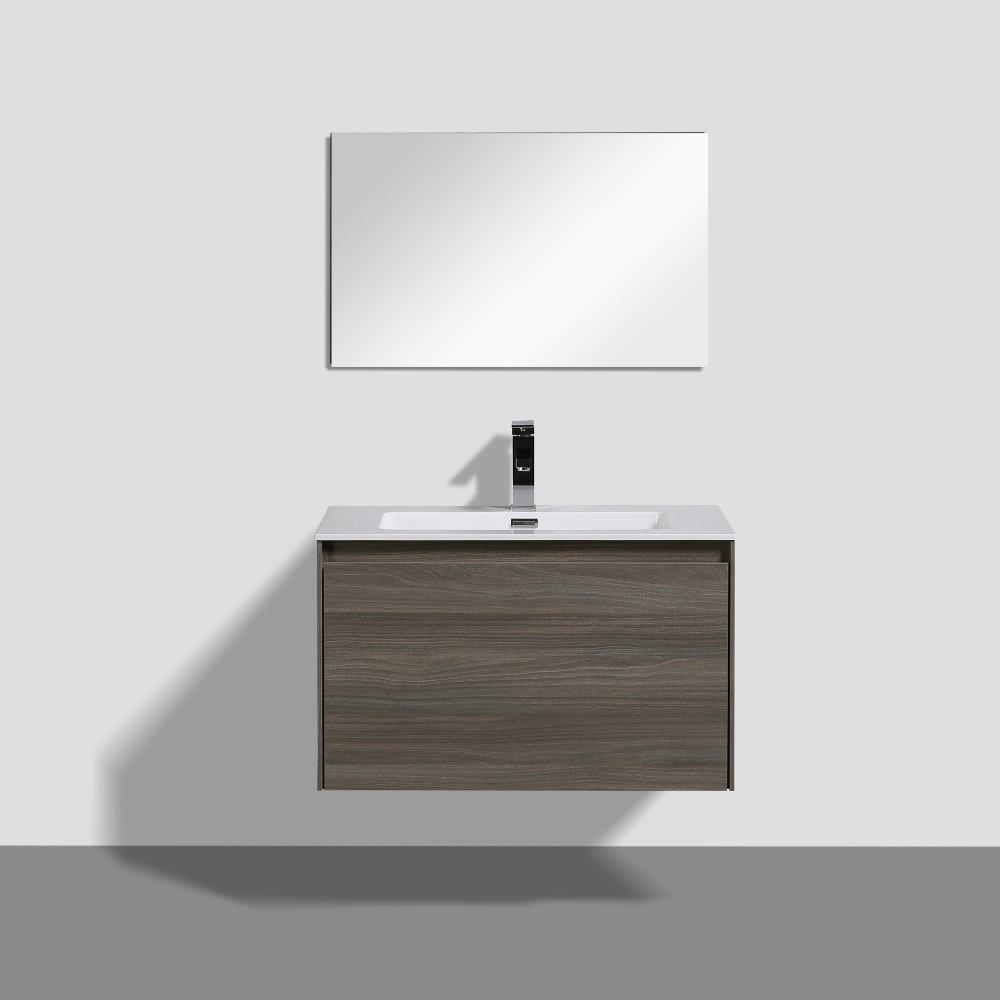 Slik Wall Hung 30 Vanity Wall Mounted Bathroom Vanities