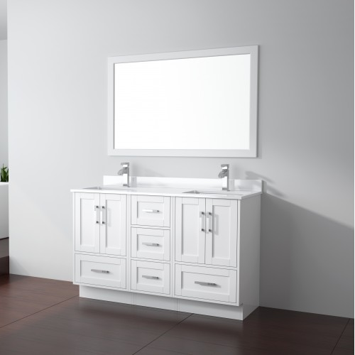 "Flow Floor Mount 54"" Vanity"