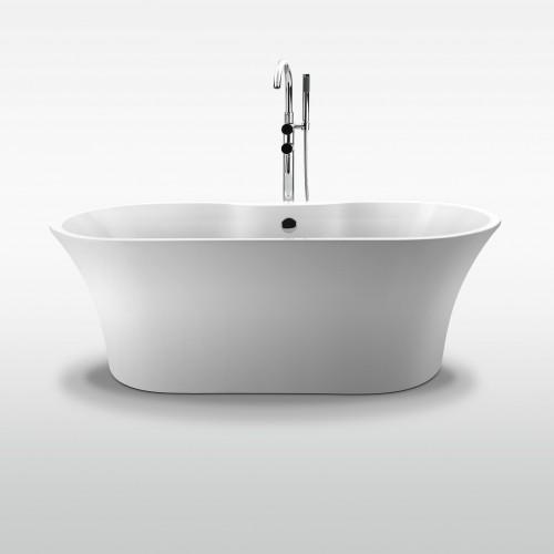"Milan Freestanding Acrylic 63"" Tub"