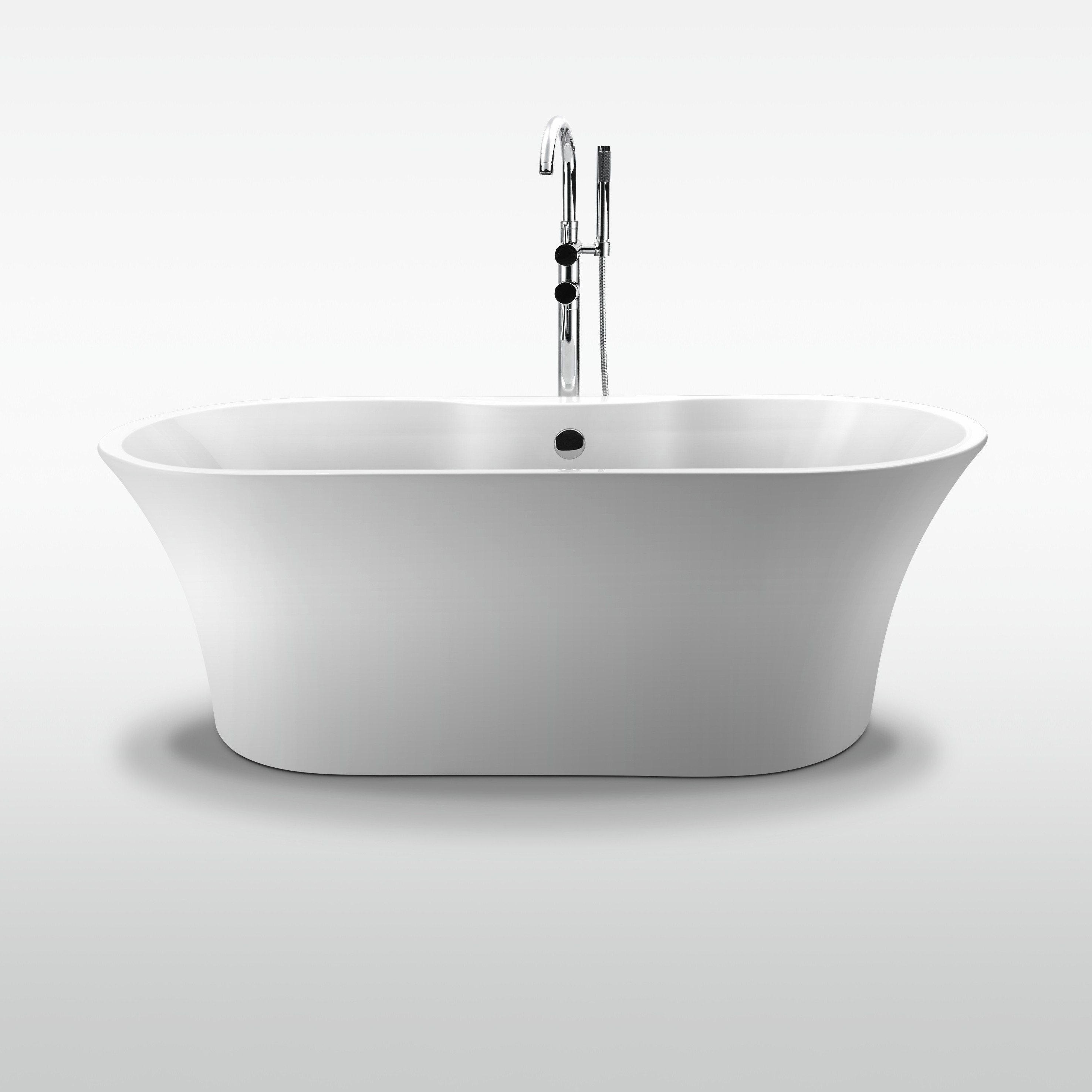 products acrylic bathtub one mibaths noss piece freestanding graphic