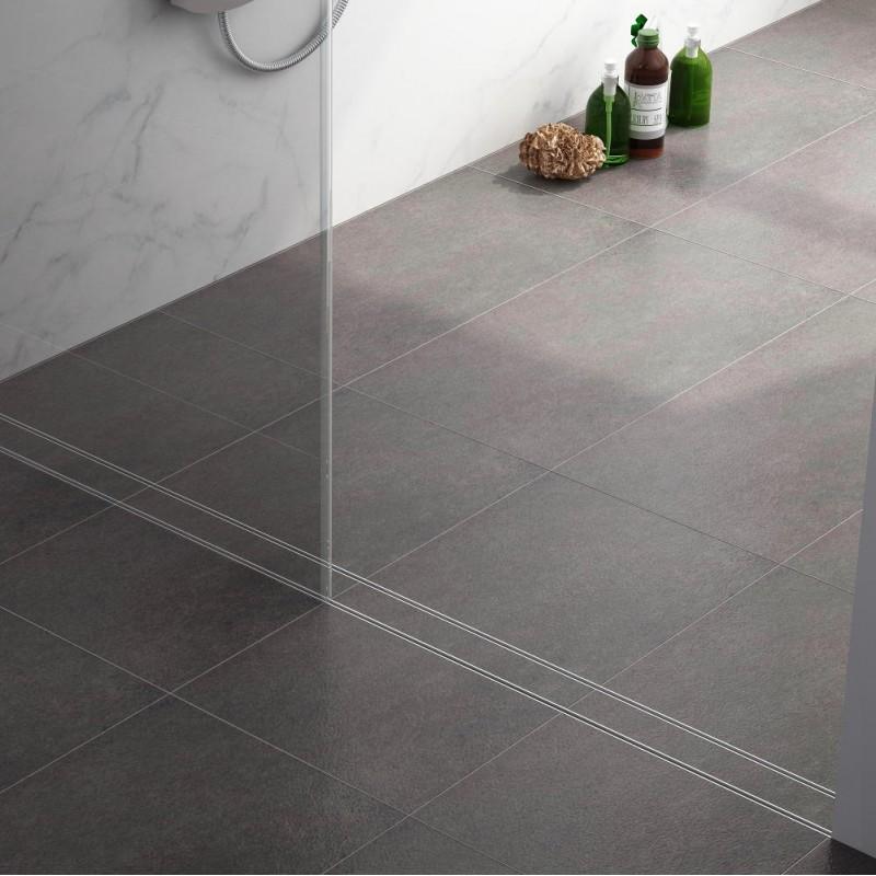 Virta Linear Drain Tile Flange Linear Shower Drains