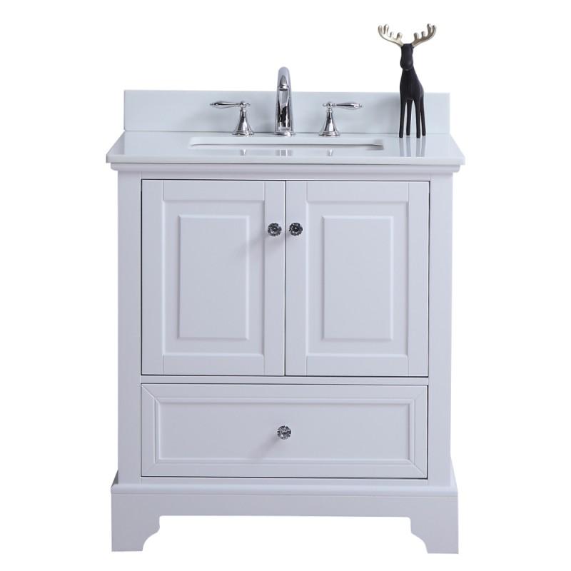 """Rta Kitchen Cabinets Toronto: Dalia Floor Mount 30"""" Single Sink Vanity"""