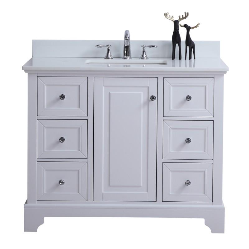 """Rta Kitchen Cabinets Toronto: Dalia Floor Mount 42"""" Single Sink Vanity"""