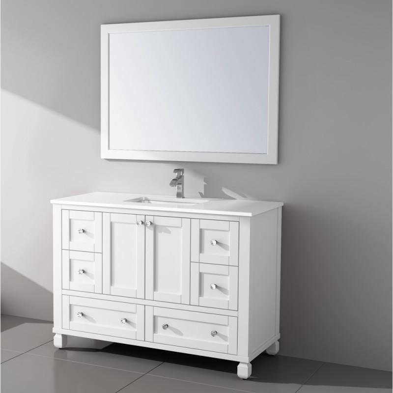 """Rta Kitchen Cabinets Toronto: Hampton Floor Mount 60"""" Single Sink Vanity"""