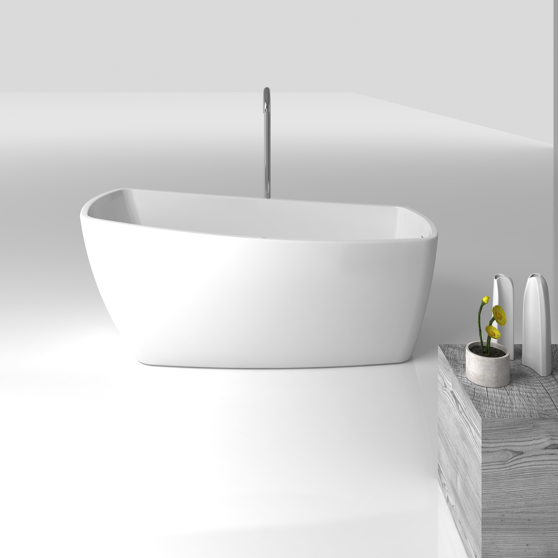 bathtub inch pdx plumbing reviews clawfoot improvement x wayfair cambridge home