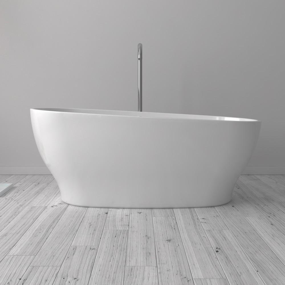 Florence Freestanding Acrylic 63 Tub Bathtubs Toronto Canada Vir