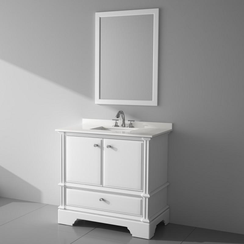 "Charm Floor Mount 36"" Vanity – Freestanding Bathroom Vanities - Toronto,  Canada | Virta Luxury Bathroom Furniture"