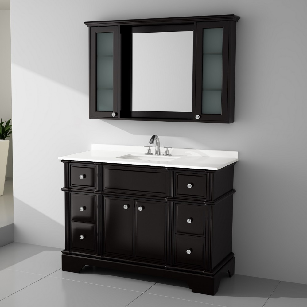 Charm Floor Mount 48 Vanity Freestanding Bathroom Vanities Toronto Canada Virta Luxury