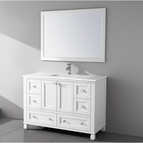 "Hampton Floor Mount 48"" Vanity"