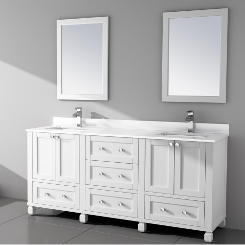 "Hampton Floor Mount 72"" Vanity"