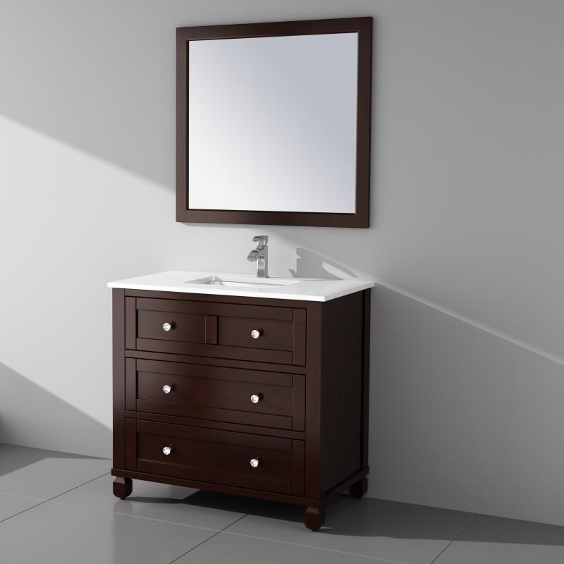 """Rta Kitchen Cabinets Toronto: Hampton Floor Mount 36"""" Single Sink Vanity"""
