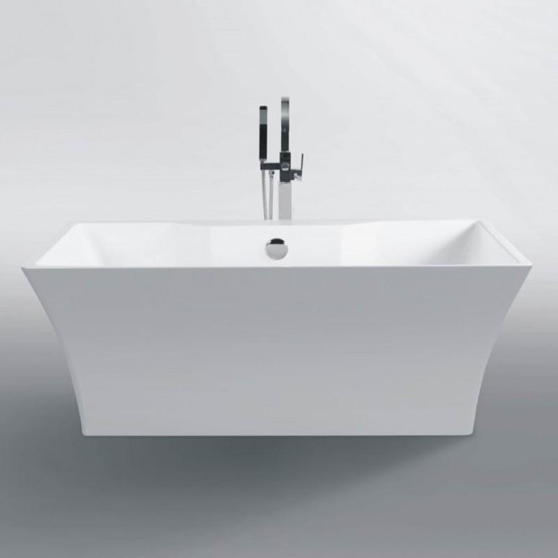"dubai freestanding acrylic 63"" tub - bathtubs - toronto, canada"