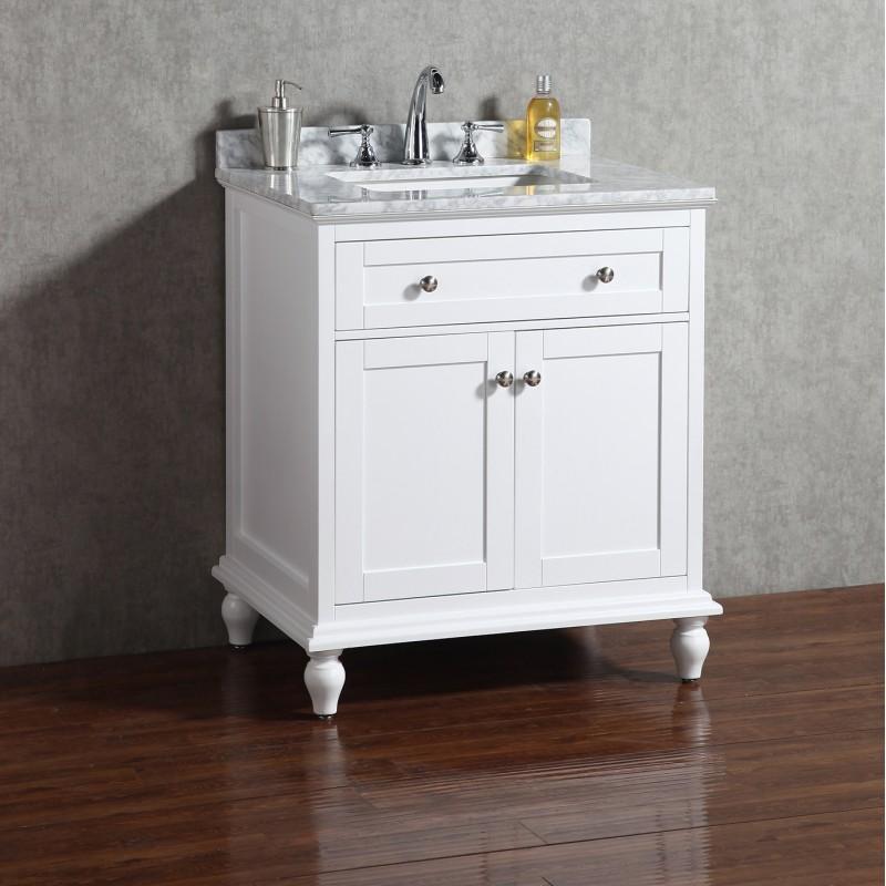"Yasmine Floor Mount 30"" Vanity – Freestanding Bathroom Vanities - Toronto,  Canada | Virta Luxury Bathroom Furniture"
