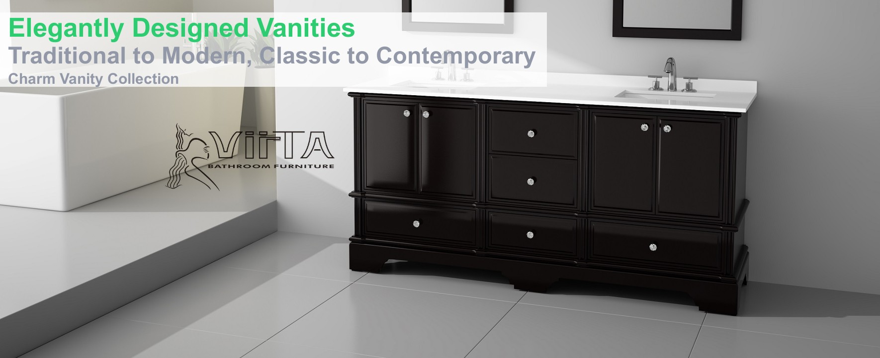 Elegantly Designed Vanities
