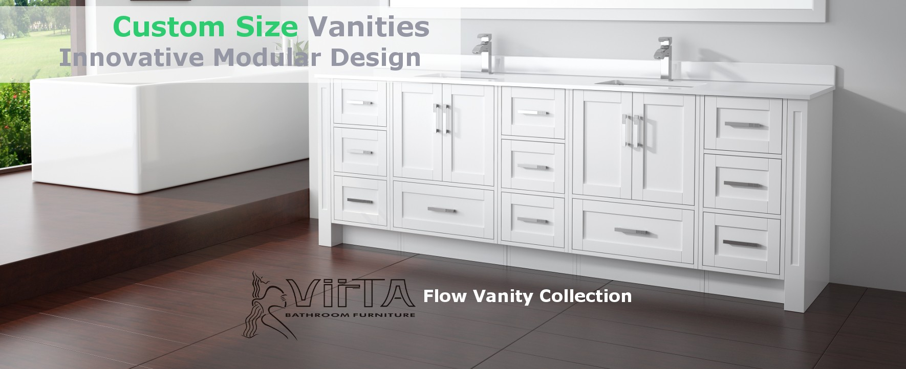 Custom Size Vanities