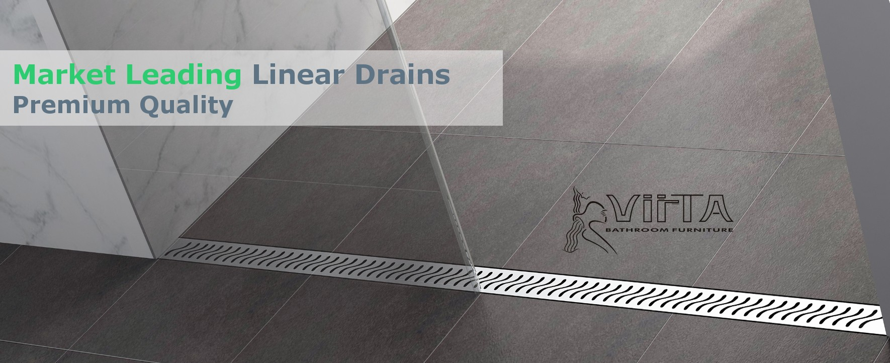Market Leading Linear Shower Drains