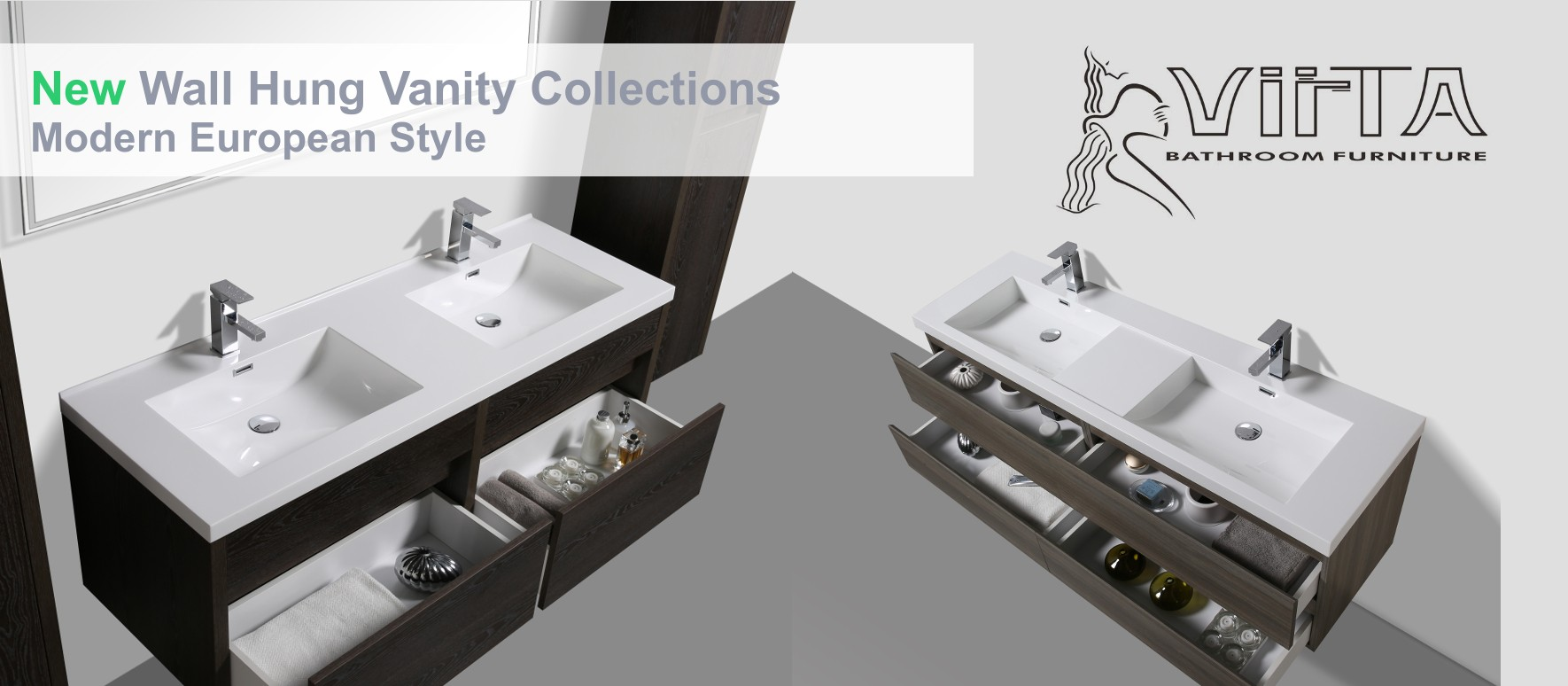 New Wall Hung Vanity Collections