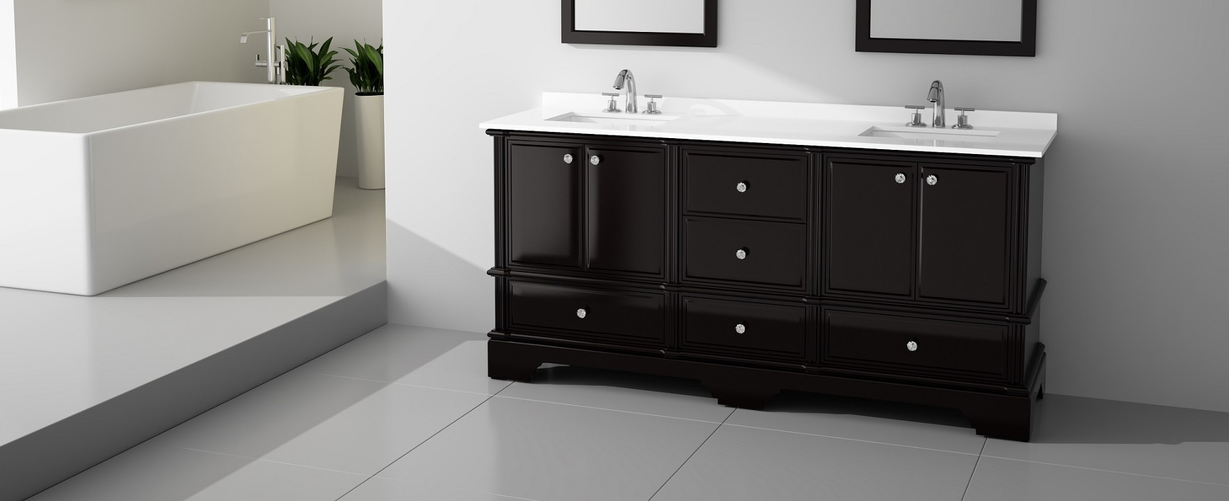 Elegant Bathroom Vanity Designs