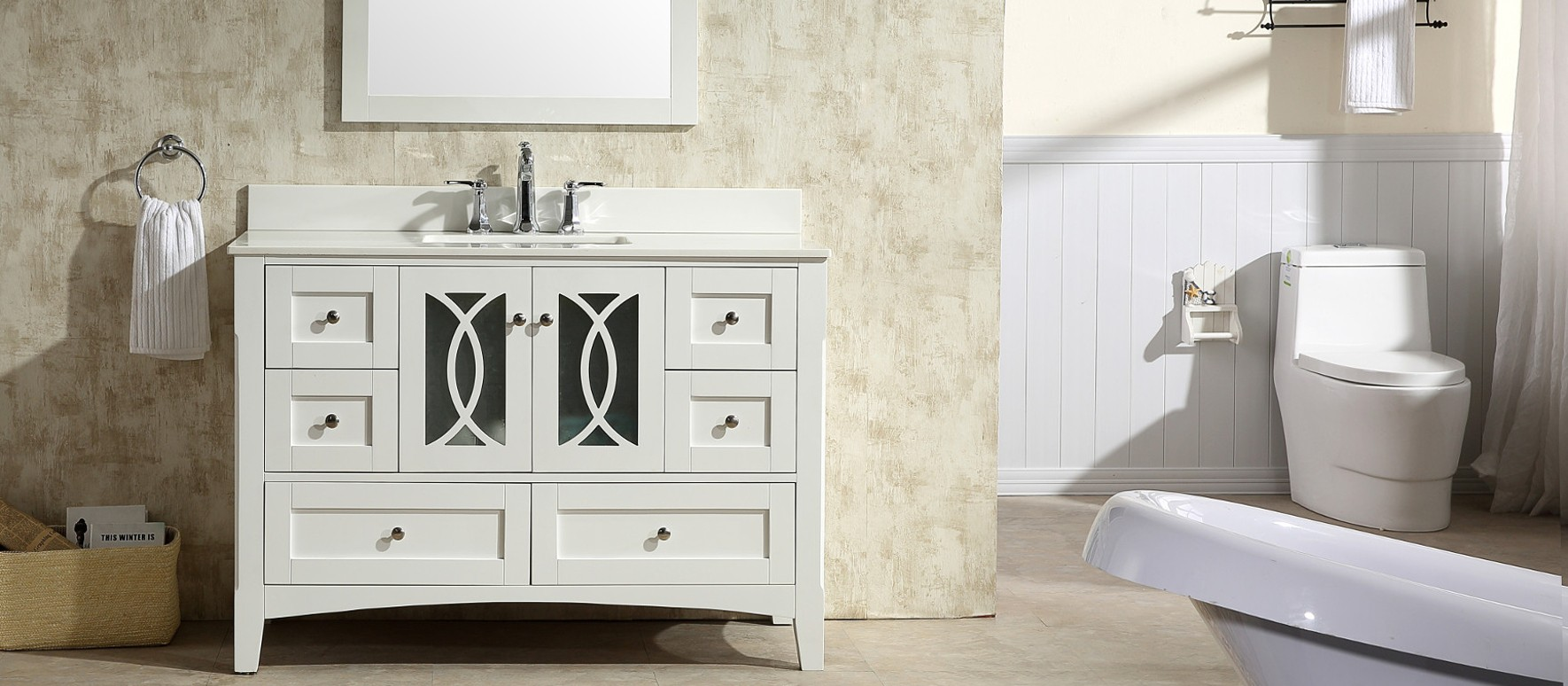 Solid Wood Freestanding Vanities