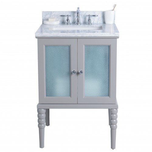 "Grace Floor Mount 24"" Single Sink Vanity"