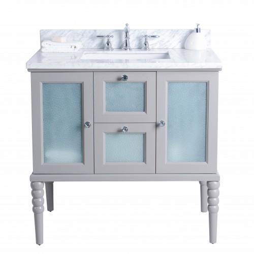 "Grace Floor Mount 36"" Single Sink Vanity"