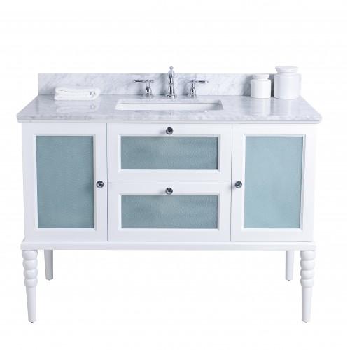 "Grace Floor Mount 48"" Single Sink Vanity"