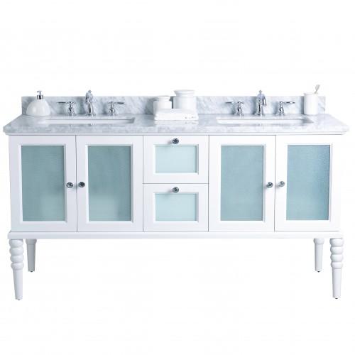 """Grace Floor Mount 72"""" Double Sink Vanity"""
