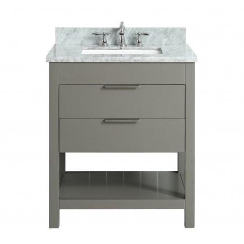 """Breeze Floor Mount 30"""" Single Sink Vanity"""