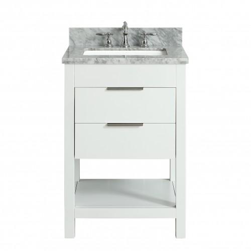 """Breeze Floor Mount 24"""" Single Sink Vanity"""