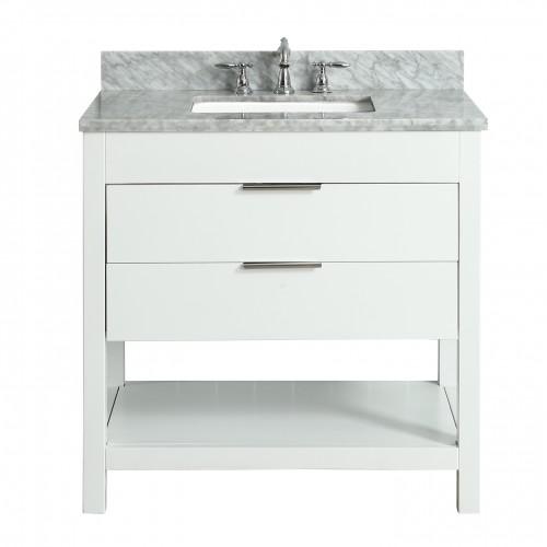 """Breeze Floor Mount 36"""" Single Sink Vanity"""