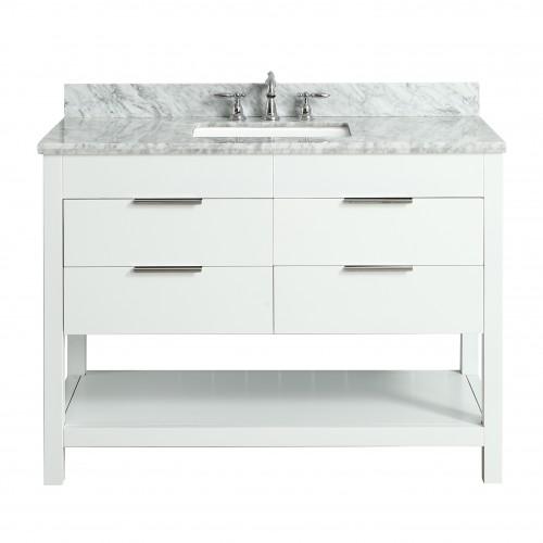"""Breeze Floor Mount 48"""" Single Sink Vanity"""