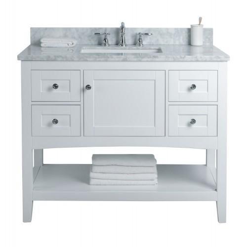 "Sirena Floor Mount 42"" Single Sink Vanity"