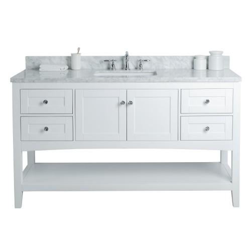 "Sirena Floor Mount 60"" Single Sink Vanity"