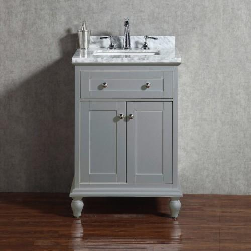 "Yasmine Floor Mount 24"" Single Sink Vanity"