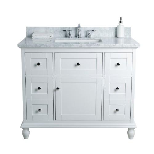 "Yasmine Floor Mount 42"" Single Sink Vanity"