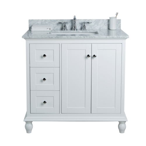 "Yasmine Floor Mount 36"" Single Sink Vanity"