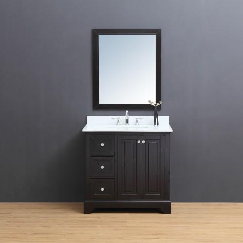 "Dalia Floor Mount 36"" Single Sink Vanity"